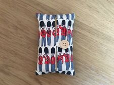 Handmade Packet Tissue Holder Case Made Using Cath Kidston Guards Fabric