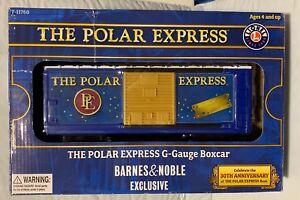 Lionel POLAR EXPRESS Boxcar G-Gauge Boxcar Barnes & Noble Exclusive 7-11760
