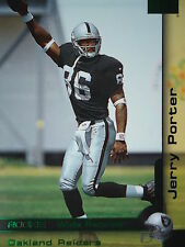210 Jerry Porter Oakland Raiders Skybox 2000 Rookie