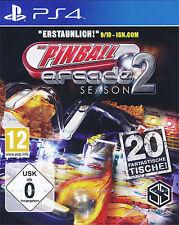Sony ps4 PlayStation 4 juego *** Arcade Pinball temporada 2 *** nuevo * New