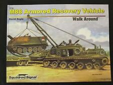 Squadron Book: M88 Armored Recovery Vehicle Walk Around - Color Photos & Profile