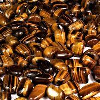 25 g Tigerauge Trommelsteine Ø 10 - 20 mm  A - Qualität aus Südafrika
