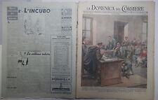 LA DOMENICA DEL CORRIERE 10 ottobre 1948 Studente processato a Modena Birabeau