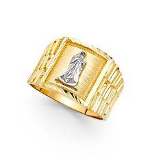 14K gold Men's Guadalupe ring EJMR29801