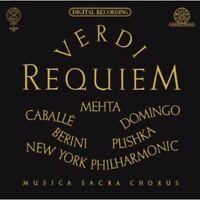 Plácido Domingo - Verdi: Requiem [New CD]