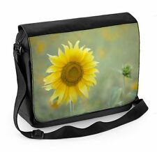 Sunflower Laptop Messenger Bag - Sunflowers Floral Flowers