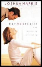 Boy Meets Girl by Joshua Harris (2000, Paperback) VG - Free Shipping