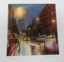 """KEN KEELEY - PRINCE STREET  """"NEW YORK""""  HAND SIGNED AND NUMBERED SILKSCREEN"""