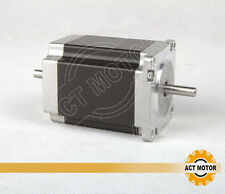 1PC Nema23 Stepper Motor 23HS8630B Dual Shaft 6-Lead 270oz-in 76mm 3.0A CE ISO R