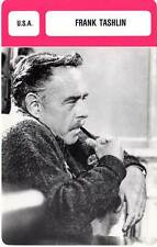 FICHE CINEMA :  FRANK TASHLIN -  USA (Biographie/Filmographie)