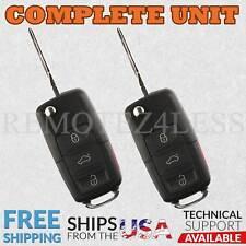2 Keyless Entry Remote for 2006 2007 2008 2009 2010 2011 VW Jetta Car Key Fob