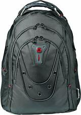 """Wenger 605500 Ibex 16"""" Backpack Slim Made From Ballistic Polyester In Black"""