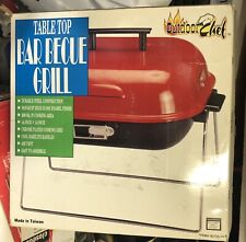 """Outdoor Chef Portable Table Top Charcoal Barbecues Grill 14""""x14"""" 200 Square Inch"""