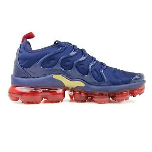 """Nike Air Vapormax Plus Men's Shoes """"Olympic"""" Navy Gold 924453 405 Size 7"""