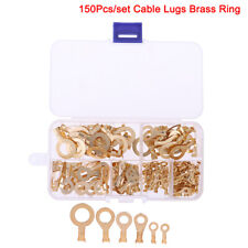 Lugs Tin Plated Pure Copper  Tk Connectors Ring Terminals 20X Hot Cable Ends