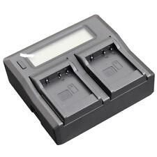 Quick LCD Battery Charger for Panasonic DMW-BLG10E DMW-BLE9 DMC-GX7 GX85 DC-TZ90