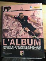 ALBUM vuoto FORZA PALERMO + Set completo di figurine dei rosanero Panini 2004