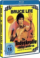 Bruce Lee - Die Todeskralle schlägt wieder zu (UNCUT) auf Blu Ray NEU+OVP