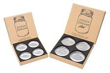 Pickle Pebbles - Glass Fermentation Weights for Small-Batch Mason Jar Ferment...