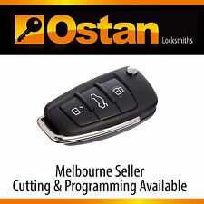 Complete Key & Remote to suit AUDI Q7/A6, 2008+ (Aftermarket)