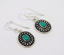 Handmade Earring Jewelry Mjc7726 Turquoise .925 Silver Plated