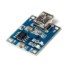 1PC 5V Mini USB 1A 1000mA Batería de Litio de Carga Módulo Cargador Junta BC