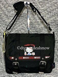 NEW Lesportsac x Hello Kitty Crossbody Messenger Bag Black 2876 G653