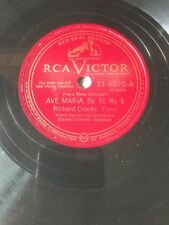 Richard Crooks - Ave Maria / How Lovely Are Thy Dwellings - RCA Victor 78rpm