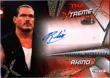 TNA Rhino 2010 Xtreme GOLD Authentic Autograph Card SN 48 of 99