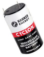 1 x Hawker Cyclon 2.5-2 plomo batería 2 V/2500 Mah