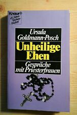 Ursula Goldmann-Posch Unheilige Ehen römisch-katholische Priester-Frauen Zölibat