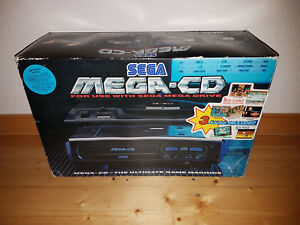## SEGA Mega-Cd 1 Console En Emballage D'Origine - Plein Fonctionnel / À