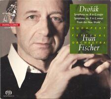 """Ivan Fischer/BFO 'Dvorak: Symphonies No 8 & 9"""" Channel Classics SACD CD"""