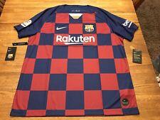 NWT's Nike FC Barcelona 19/20 Home Jersey AJ5532-456 Mens Size 2XL *Sweet* $90