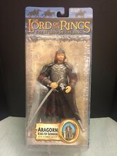 Toy Biz Lord Of The Rings Action Figure Aragorn, King of Gondor New In Package.