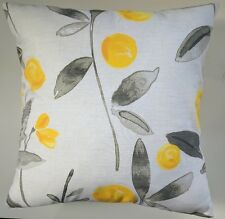 "Cushion Cover in Next Ochre Eden 16"" Matches Curtains"