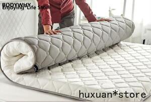 Thickness 10cm Cotton Folding Mattress Full Sz Bed Breathe Foam Tatami Mattress