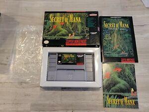 Secret Of Mana (Nintendo SNES) Complete - Tested - Authentic