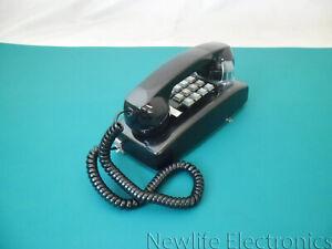 Cortelco Black Wall Phone 255400-VBA-20M