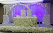 Wedding/Event flower backdrop decoration For Hire only.