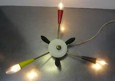 mid century 50s Rockabilly - Sputnik Spinne Lampe Wandlampe Decken Leuchte ~50er