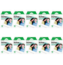 10 Packs 100 Instant Photos FujiFilm Instax SQUARE Film Polaroid Camera For SQ10