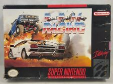 RPM Radical Psycho Machine Racing (Super Nintendo | SNES) Authentic BOX ONLY
