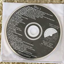 VA Promo 2-CD SONY Johnny Cash Bob Dylan Pearl Jam MICHAEL JACKSON MARIAH CELINE