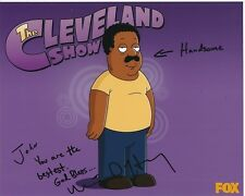 MIKE HENRY Signed FAMILY GUY CLEVELAND BROWN Photograph - To John GREAT CONTENT!
