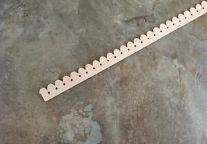 """Dollhouse Miniatures Trim Victorian Gingerbread Style Molding 18"""" 1:12 Scale"""