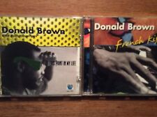 Donald Brown [ 2 CD Album ] French Kiss  + At This Point in My Life