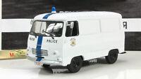 Scale model car 1:43, Peugeot J7 Police Brussels, Belgium 1965