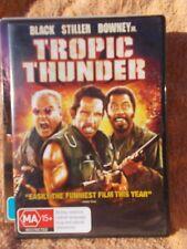 TROPIC THUNDER JACK BLACK BEN STILLER,,ROBERT DOWNEY JR DVD MA R4