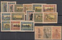 BL6628/ RUSSIA – AZERBAIJAN – 1922 / 1923 MINT SEMI MODERN LOT